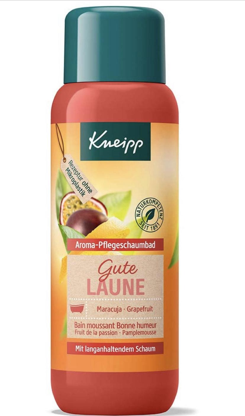 4x 400 ml Kneipp Badschuim (alle soorten) ook douchegel/badolie!