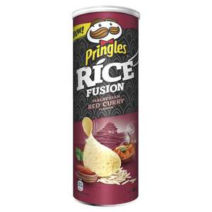 3 verpakkingen Pringles Rice Fusion Red Curry €1 @ Die Grenze