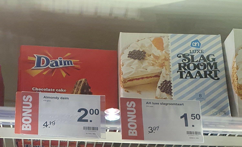 [Lokaal] Daim Taart voor €2,- @ Albert Heijn Bussum