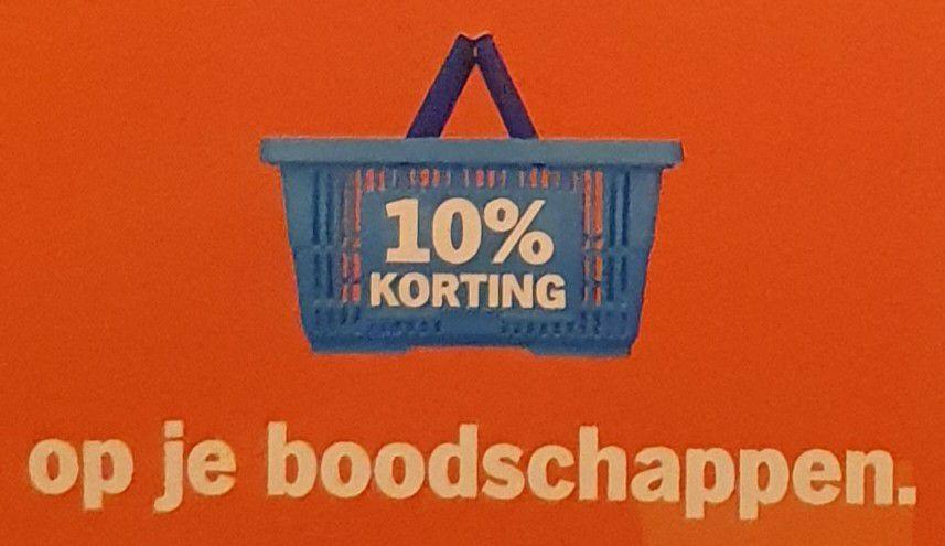 [Lokaal] 10% korting op boodschappen @ Albert Heijn (Bussum en Naarden)