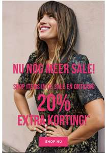Sale tot 50% + 20% extra @ ONLY