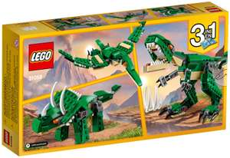 LEGO Creator machtige dinosaurussen @ Amazon NL