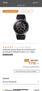 [Grensdeal] Samsung Galaxy Watch 46mm