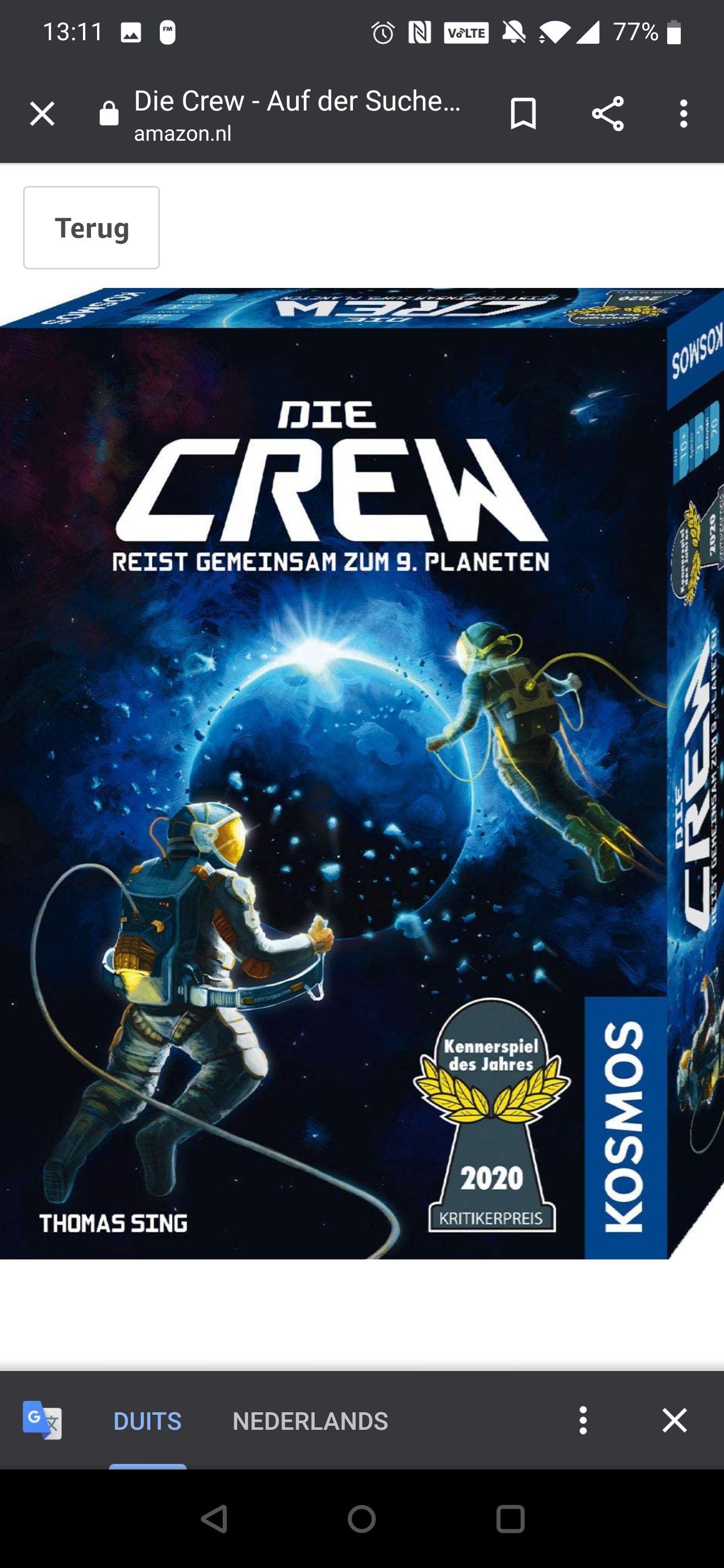 De Crew (Duitse versie)
