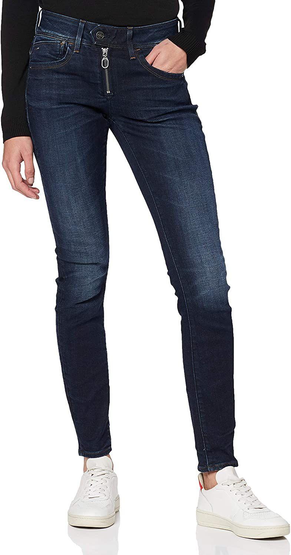 G-Star Raw dames skinny jeans Lynn Zipper Mid Skinny