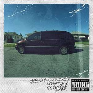 Kendrick Lamar - Good Kid,M.a.a.d City (dubbel lp)