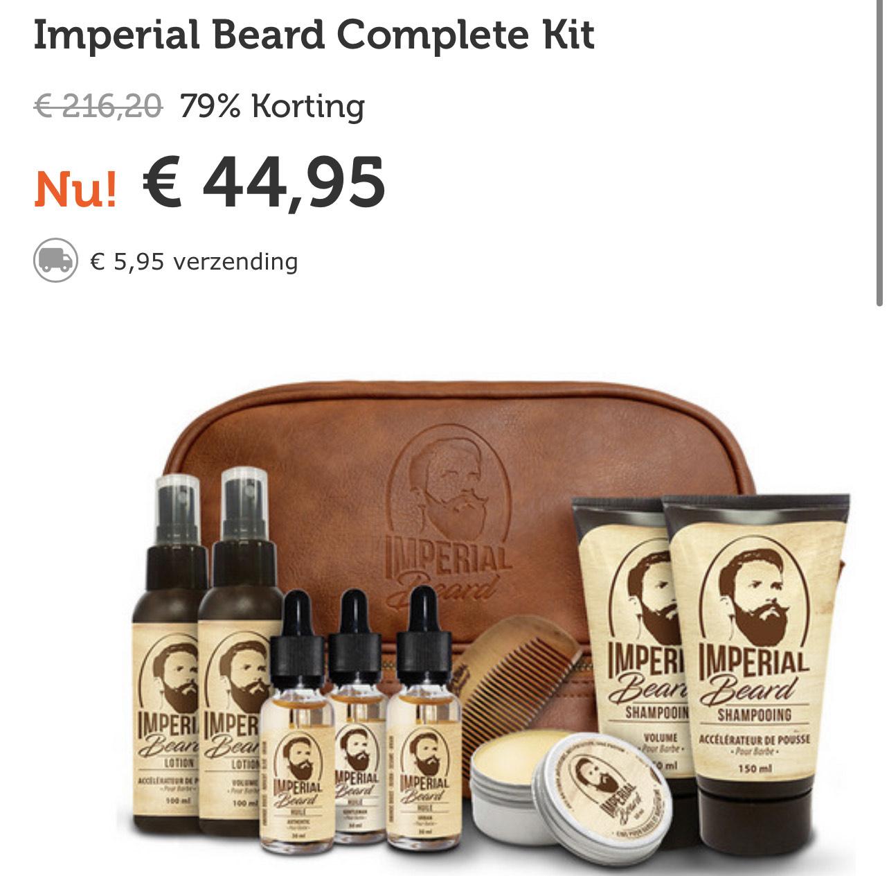 Imperial beard complete Kit @ iBOOD