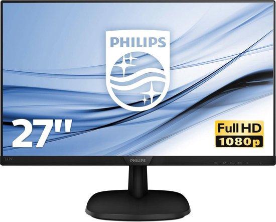 "Philips V-line 273V7QJAB - 27"" IPS LCD-monitor"