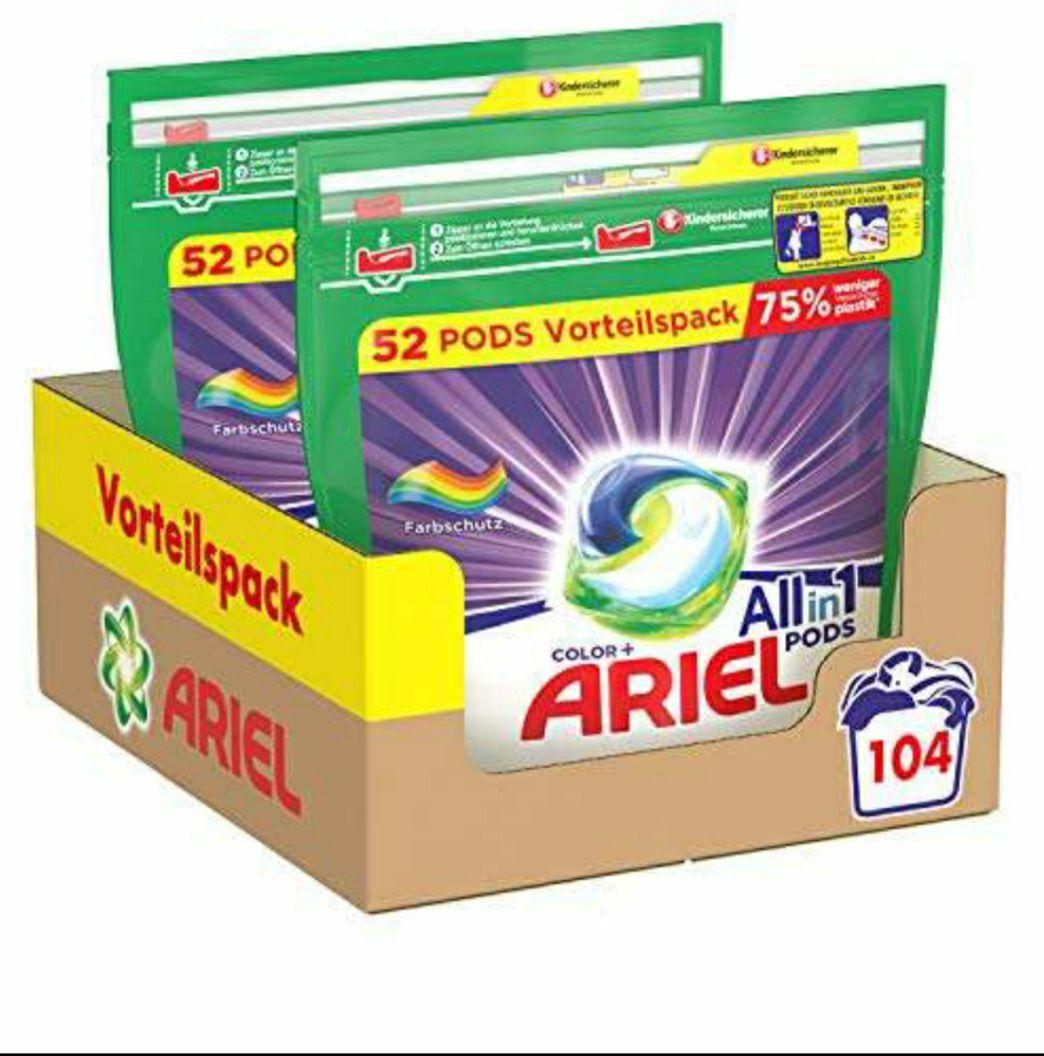 Ariel 3 in 1 color pods voor € 0,14 per stuk