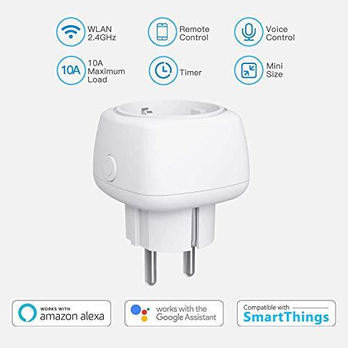 4 stuks Meross slimme WLAN stopcontacten (Alexa, Google Home, IFTTT) voor €22,99 @ Amazon.de