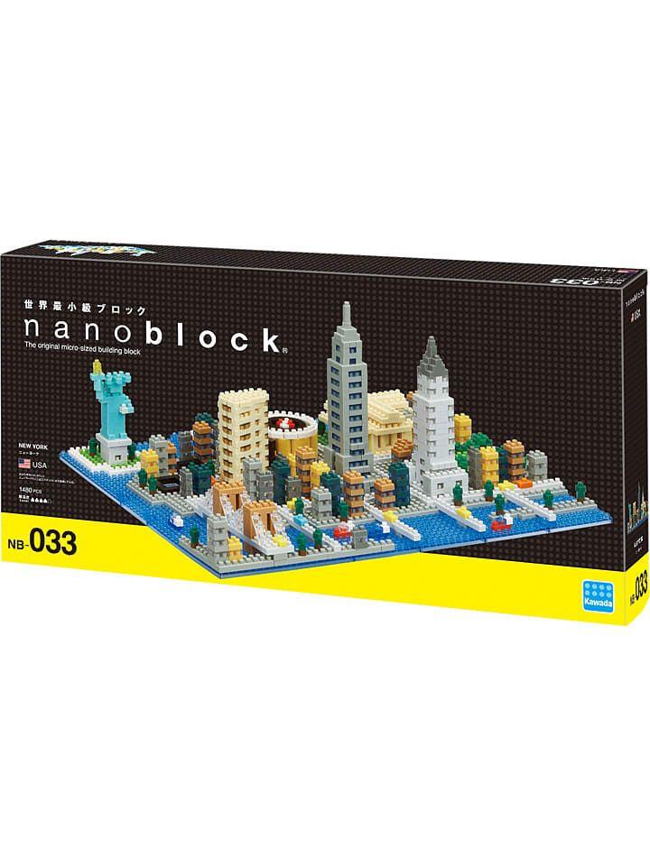 """Nanoblock 1.480-delige 3D-puzzel """"New York"""" - vanaf 12 jaar"""