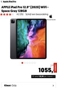 "APPLE iPad Pro 12.9"" (2020) WiFi - Space Gray 128GB"