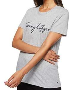 Tommy Hilfiger dames t-shirt in wit, grijs of zwart