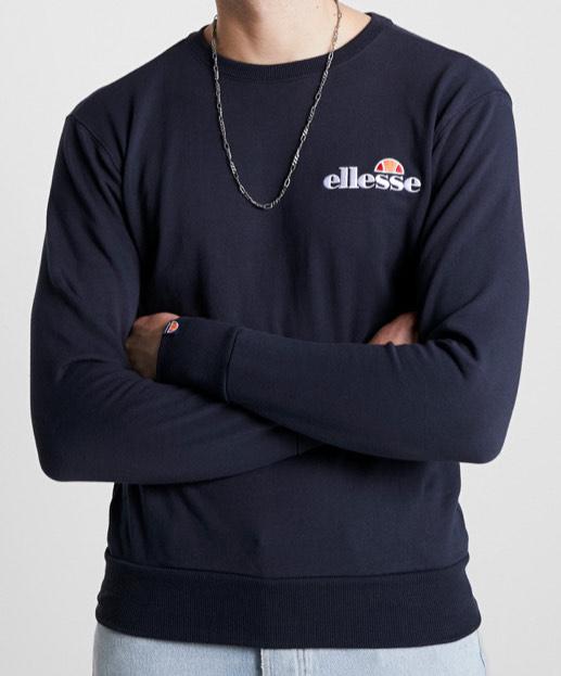 Blauwe Elesse heren sweater model type Fierro