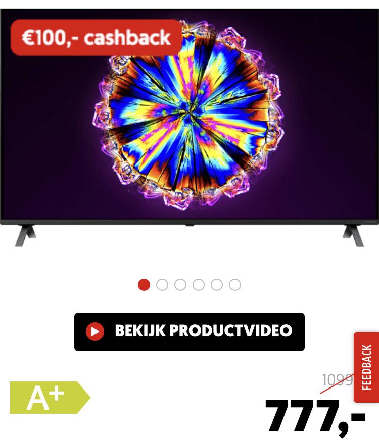 LG 4K TV - LG 65NANO806NA