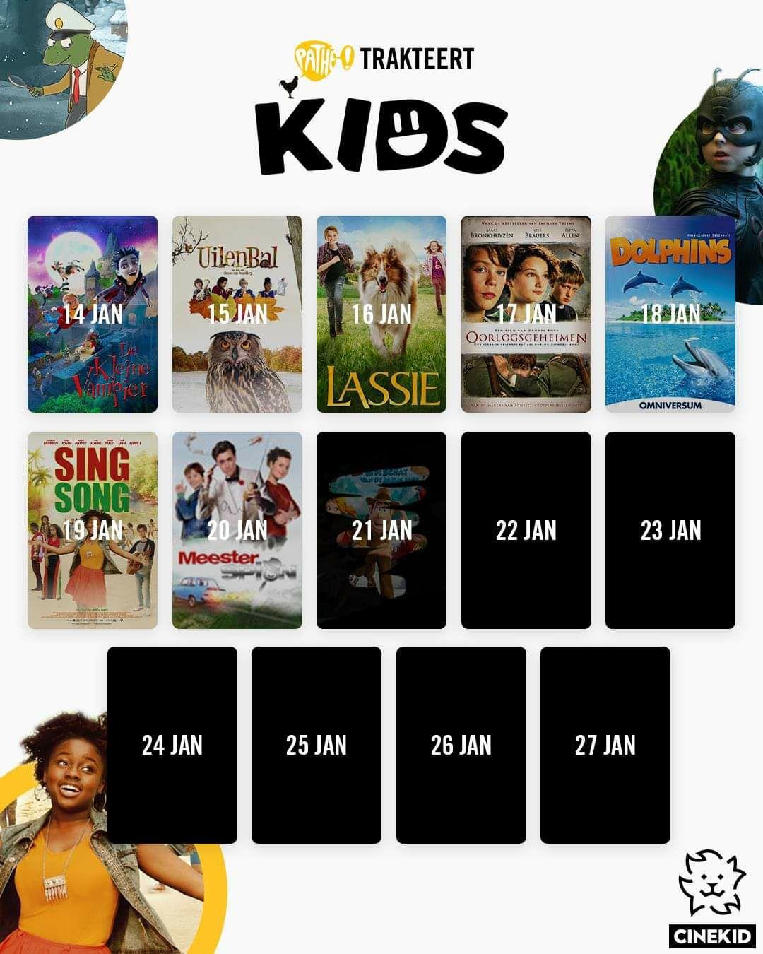 Pathé Trakteert - Elke dag een gratis kinderfilm