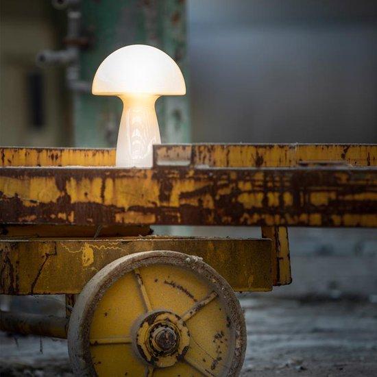 ETH - Mushroom glazen lamp