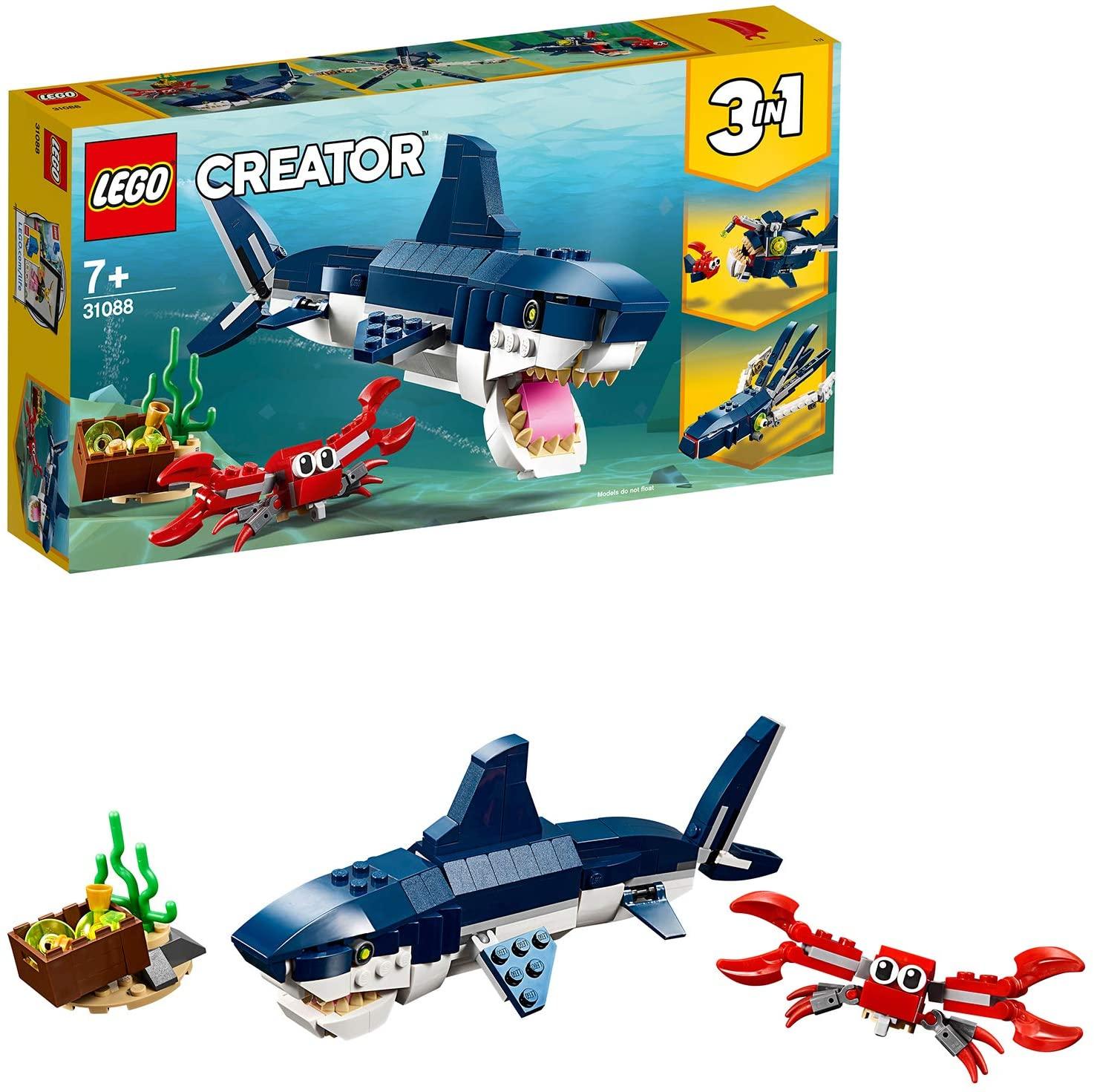 LEGO Creator Diepzeewezens 3-in-1