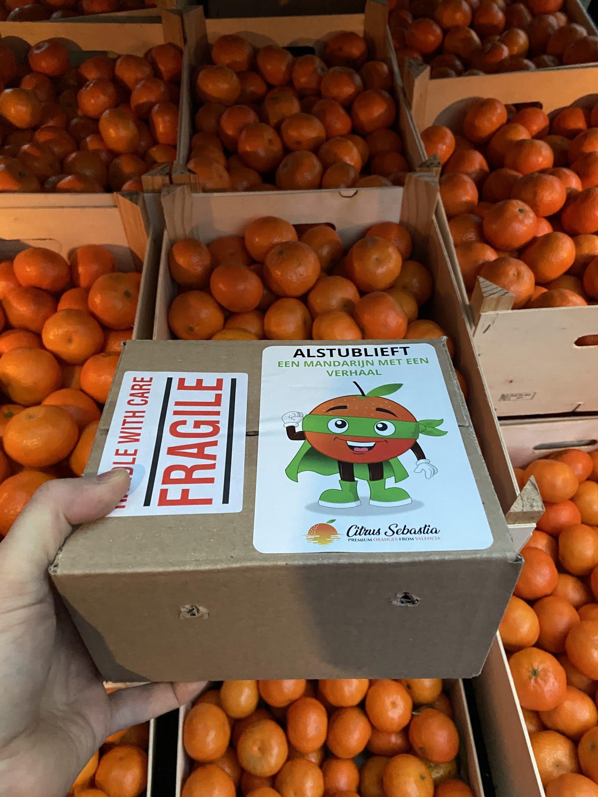 Gratis proefpakket Mandarijnen & Sinaasappels (géén waslaag, géén chemicaliën)