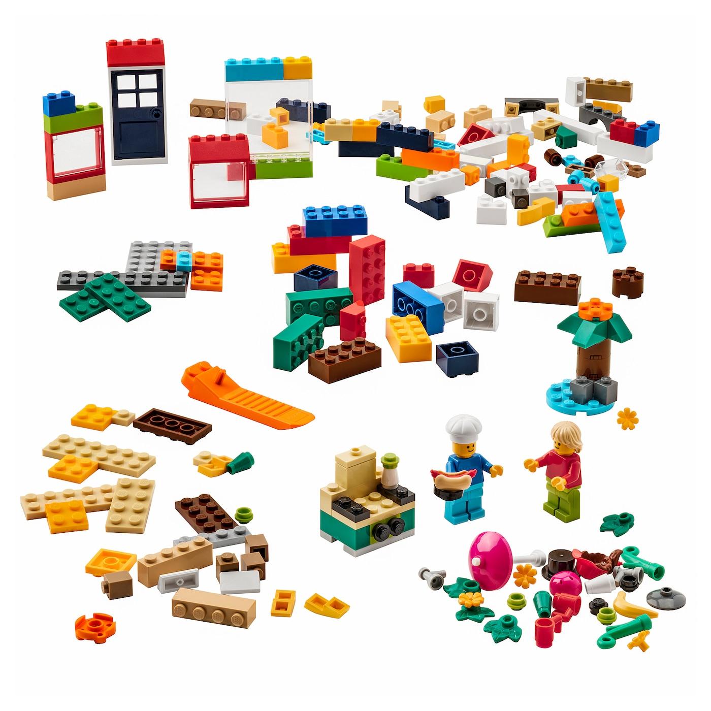 201 delig LEGO pakket @ Ikea