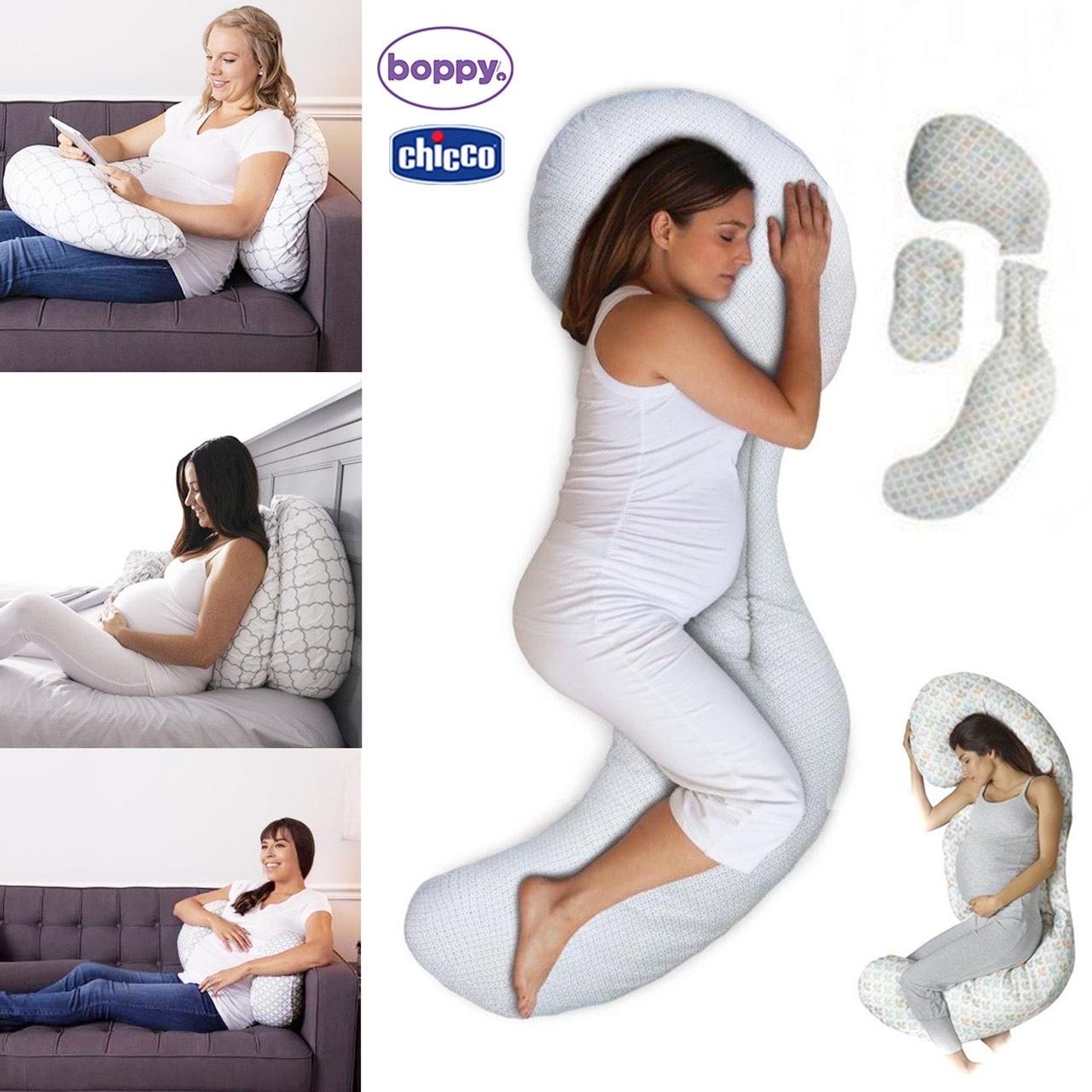 Chicco Boppy Total body zwangerschaps/zijslaapkussen @ Amazon NL & Bol.com