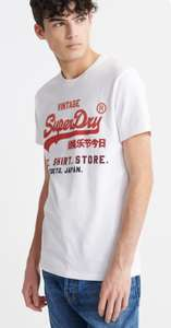 Superdry heren t-shirt wit