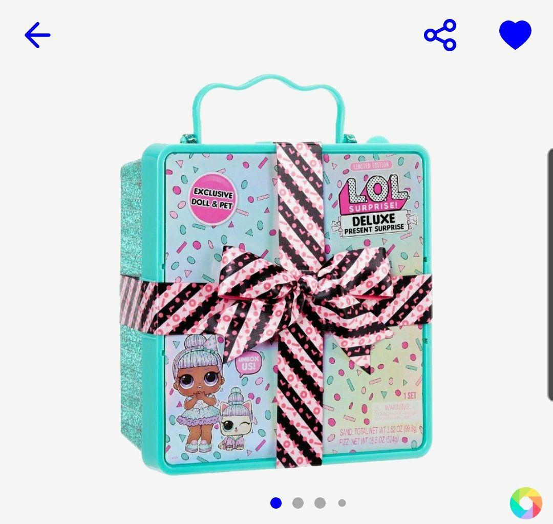 L.O.L. Surprise Deluxe Present Surprise Blauw