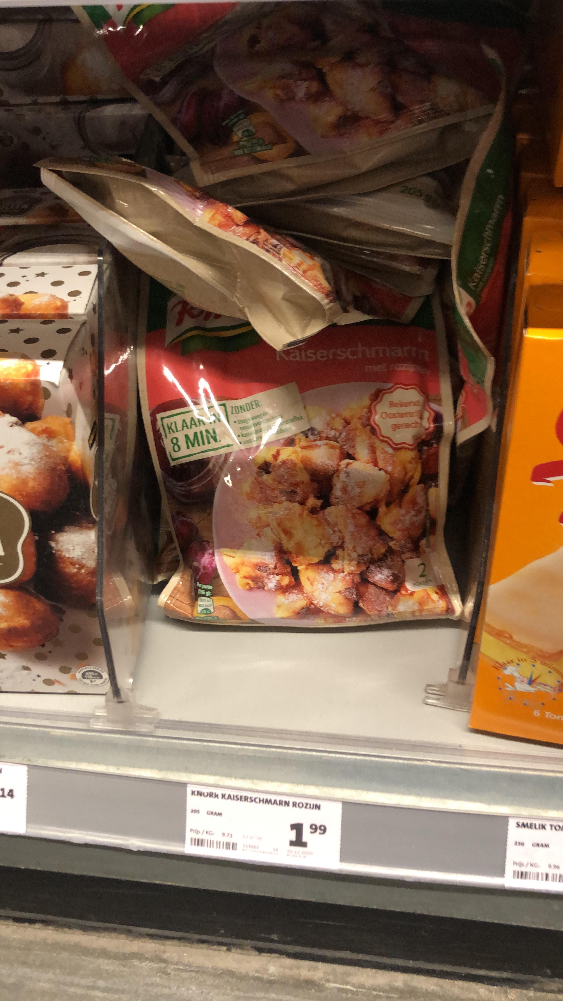 [lokaal] Knorr Kaiserschmarrn met rozijnen @ Jumbo Foodmarkt Leidsche Rijn