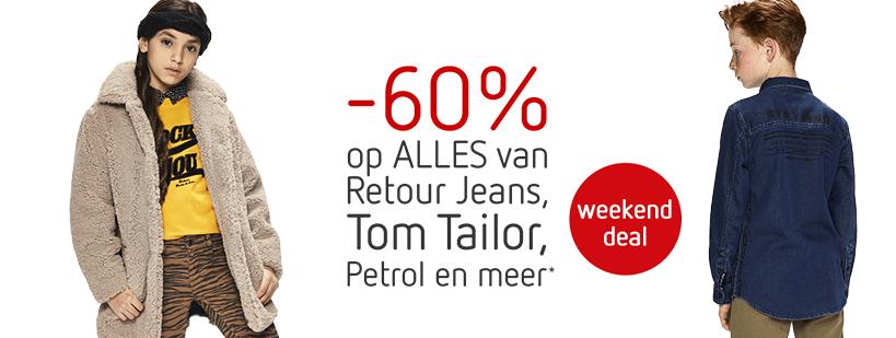 Weekenddeal: Retour, Petrol + Tom Tailor -60%