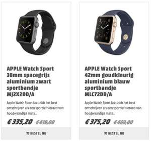 Apple Watch Sport @ Media Markt Outlet