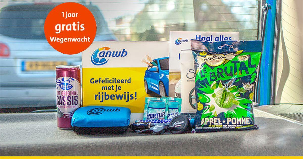 Gratis rijbewijs box + 1 jaar wegenwacht - totale waarde €62,50 (tot 25 jaar)