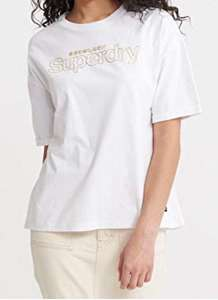 Superdry Dames T-shirt Wit