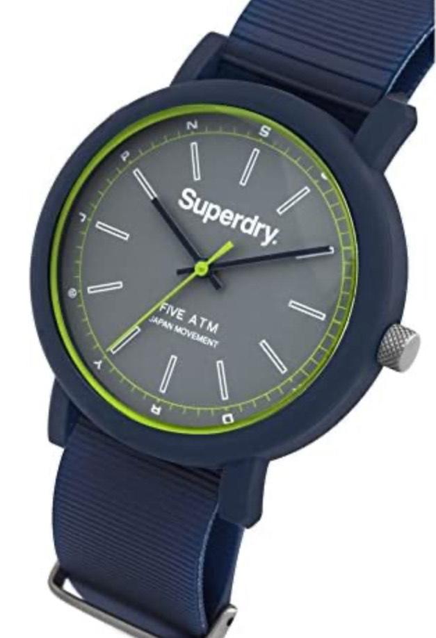 Superdry Horloge met siliconen band (39 mm)