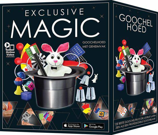 Exclusief Magic Hat 125 goocheltrucs | €9,29