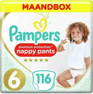 Select deal. Pampers Premium Protection nappy pants maat 4,5 en 6