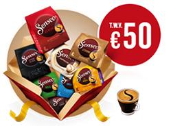 50 euro aan gratis pads @philips senseo