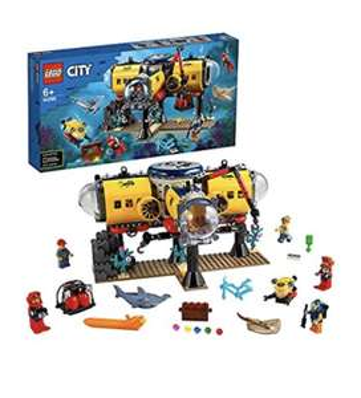 LEGO City Oceaan Onderzoeksbasis 60265