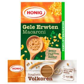 2 pakken Honig pasta €1,89 @ Plus (tot 68% korting)