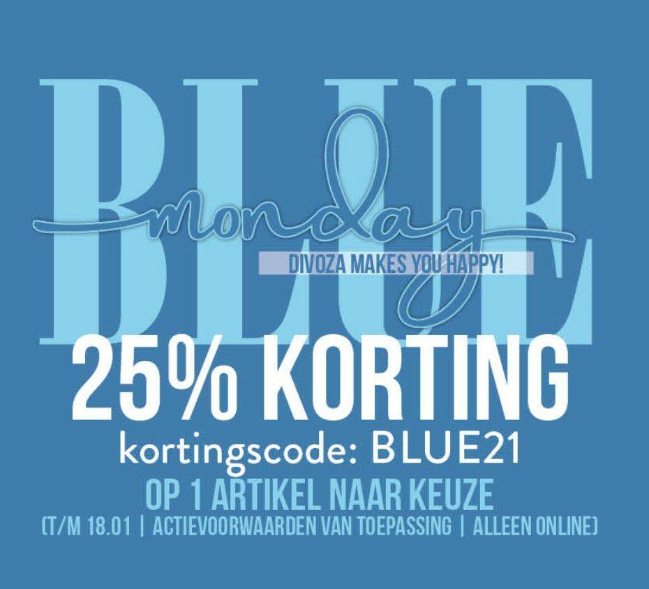 Blue Monday korting