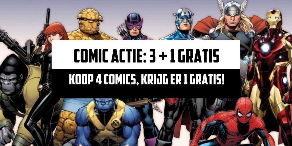 Comic actie 3 + 1 Gratis [ShortBox]