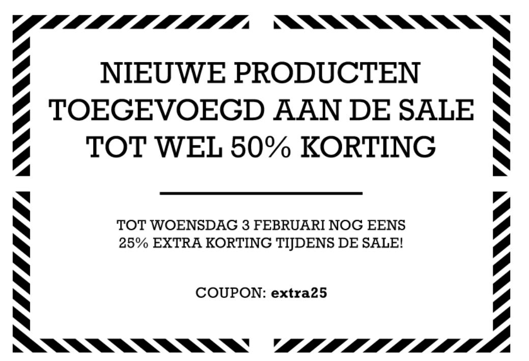 Sale met kortingen van 50% + 25% extra korting door code @ Converse
