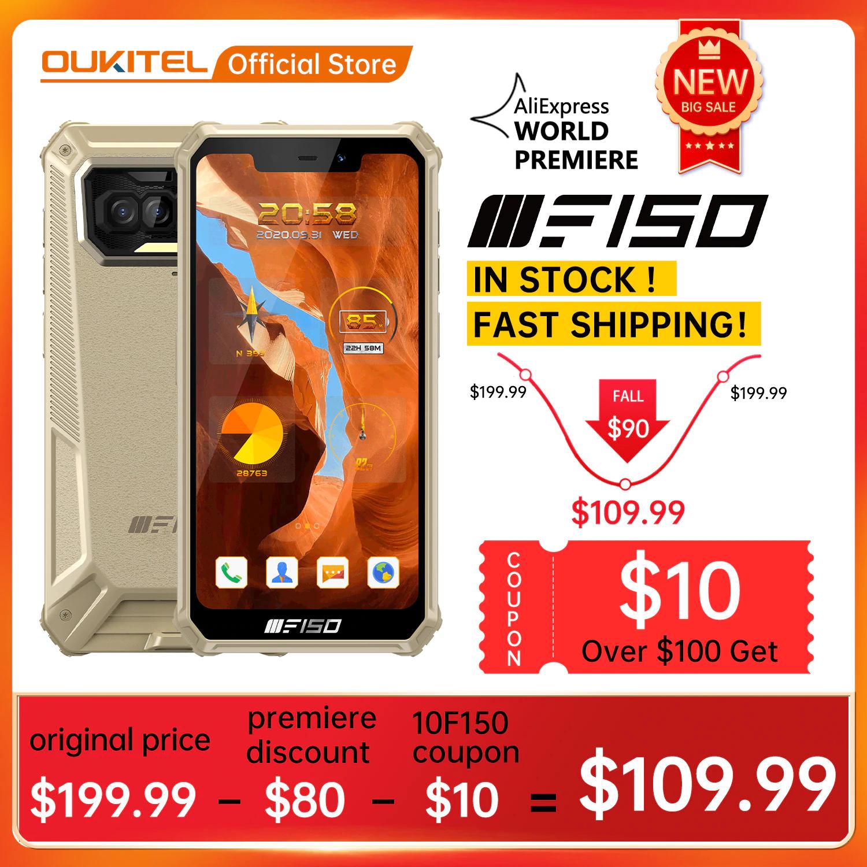 F150 B2021 IP68/69K 6GB/64GB smartphone @AlieExpress