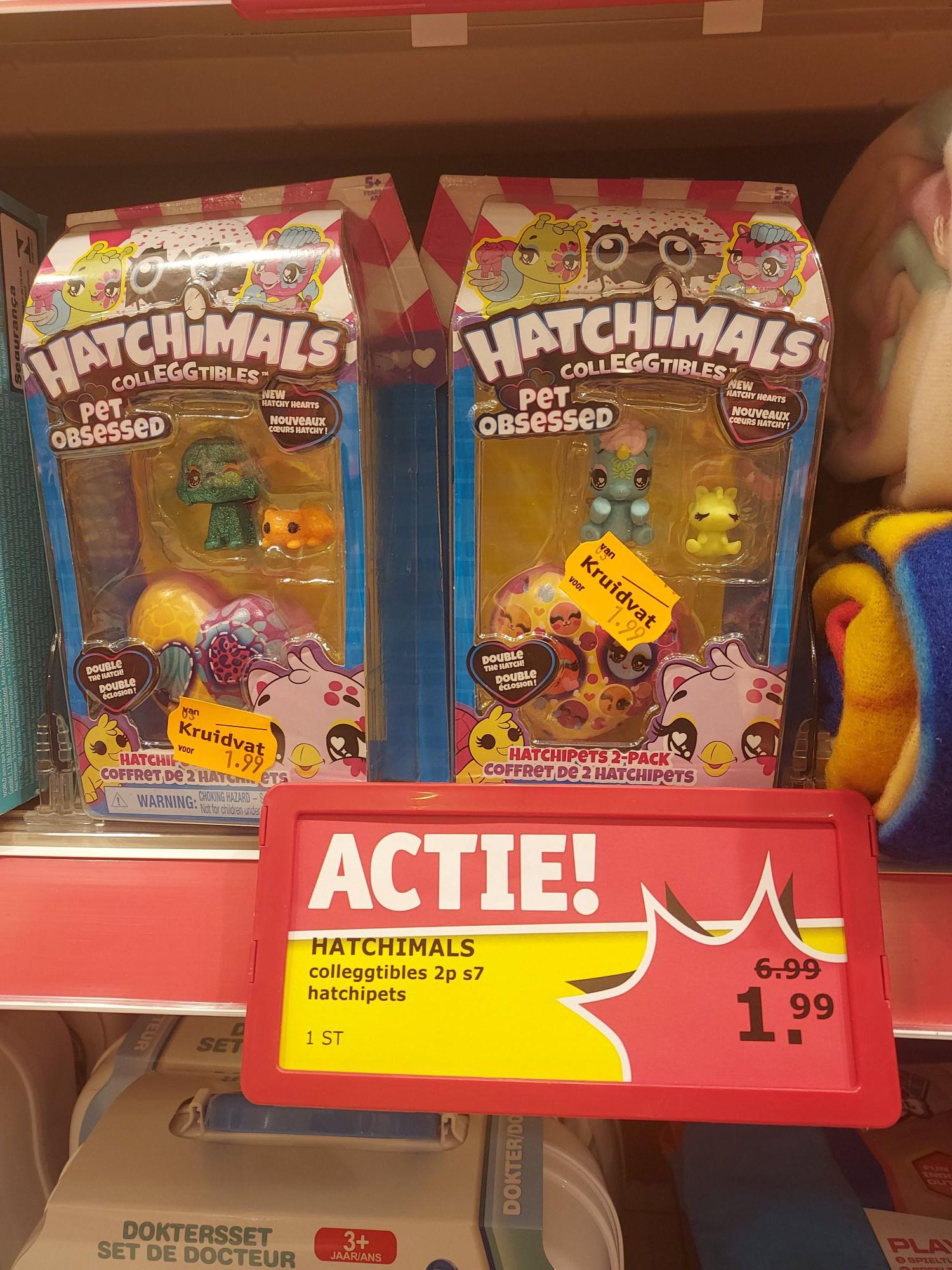 Kruidvat Hatchipets 2 pack (alleen in de winkel)