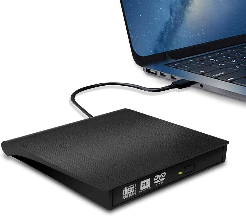 Externe DVD Drive USB 3.0 CD / DVD-RW-Brander