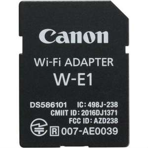 Canon WI-FI adapter W-E1 @KameraExpress