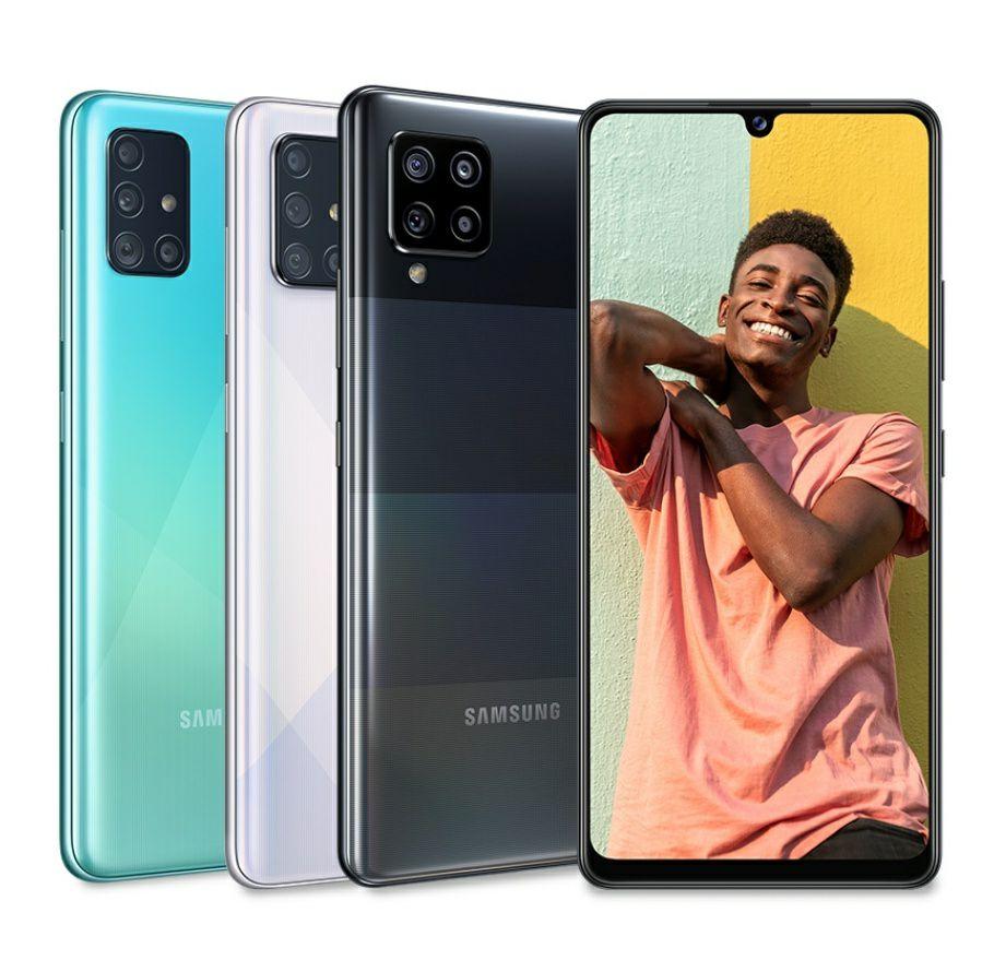 €50 cashback bij aankoop van een Samsung A42 5G, A51 of A71 bij deelnemende winkels