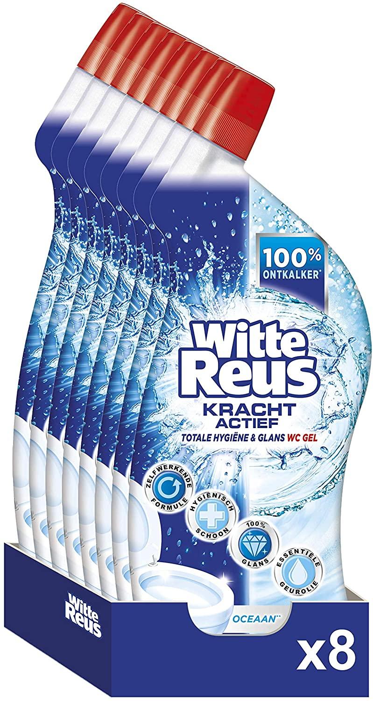Witte Reus WC Gel Oceaan - 8 stuks- 700ml