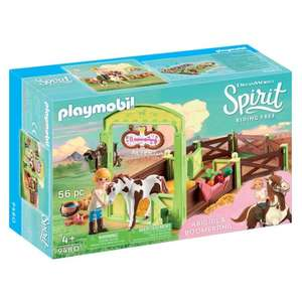 Playmobil Spirit 9480 Abigail & Boomerang met paardenbox @ Amazon NL