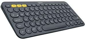 Logitech K380 (Bluetooth UK QWERTY-toetsenbord, sluit tot 3 apparaten aan)
