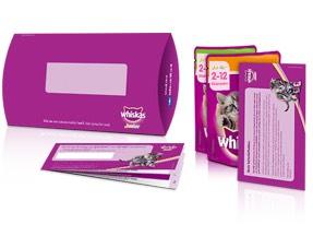 Vraag een gratis Whiskas Kittenpakket aan
